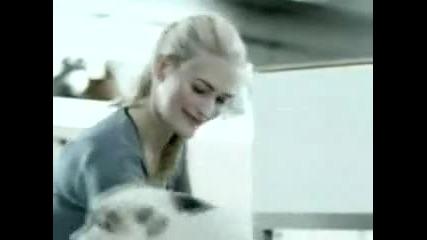 Куче изнасилва ръката на жена (смях)
