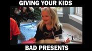 Най-бруталните шеги на родители с деца