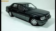 1:18 1995 Mercedes E320 W124 Dealer Edition