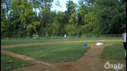 Беизбол як стрике но и як удар *hd*baseball cool strike