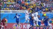 Италия 0:1 Уругвай 24.06.2014