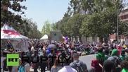 Хиляди работници от фаст фууд сектора в САЩ протестират за по-високи заплати