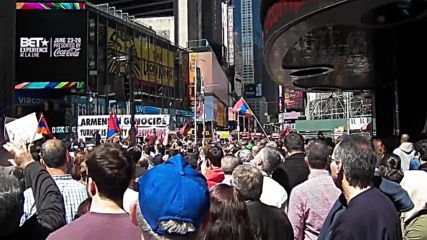 USA: New York honours the Armenian Genocide