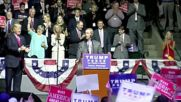 USA: UK's Farage, Trump team up against Clinton during Mississippi rally
