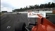Най - доброто от Гран При на Герамния Формула 1 2010