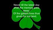 The Wolfe Tones - God Save Ireland + Lyrics
