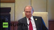China: Putin talks bilateral relations with Czech President Zeman in Beijing