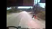 0605 Да се повозим в Там Magirus Avtomontaza с бат Харун по линията Омуртаг - Плъстина - Омуртаг