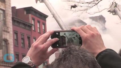 Possible Gas Explosion Causes NYC Building Collapse