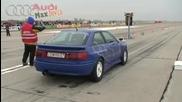 Как ускорява Audi S2