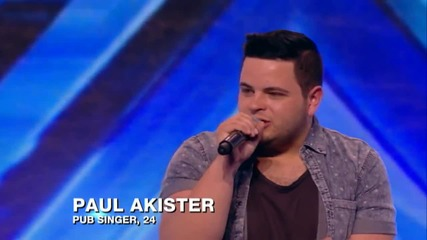 Това момче взриви залата!! Paul Akistar - A Song For You || The X Factor U K 2013 ||