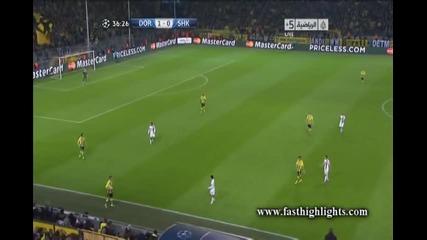 Борусия (дортмунд) 3:0 Шахтьор (донецк)