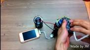 Как да направите ръчно зарядно за телефон