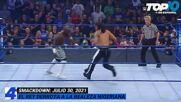 Top 10 Mejores Momentos de SMACKDOWN: WWE Top 10, Jul 30, 2021