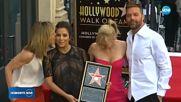 Ева Лонгория със звезда на Алеята на славата