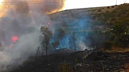 Пожар край Банево