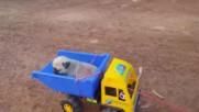 Влакова композиция за малки кученца