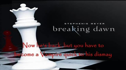 Breaking Dawn [ T.i. ft. Jt Dead and Gone Parody ]