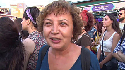 Turkey: Thousands protest against domestic violence in Istanbul