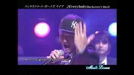 Back Street Boys - Everybody 2007 Live