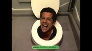 Скрита камера в тоалетна