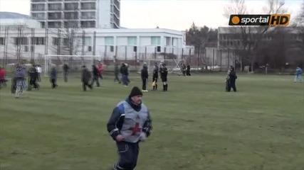 Bg :) Вижте как изгониха помощник-треньора на Пирин (гд) и прекратяването на мача