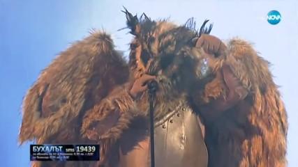 Бухалът изпълнява Фалшив герой на Тодор Колев | Маскираният певец