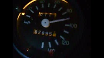 Wartburg 353 Acceleration 110km/h