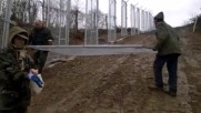 Видео на доброволните охранителни гранични отряди от Войнски съюз Васил Левски и Бно Шипка