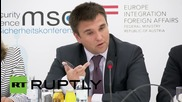 "Austria: ""Russia is trading with insecurity"",- Ukrainian FM Klimkin"