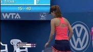 Пиронкова срещу Ерани Tsvetana Pironkova vs Sara Errani Qf Sydney 2014 Wta Full Match