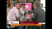 Красимир Велчев ръси бисери при Милен Цветков