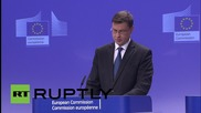 Belgium: The place of Greece is in Europe - European Commission VP