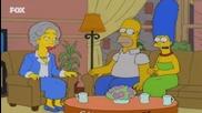 Семейство Симпсън С13 Е09 - Бг Аудио - Хоумър става добър и възпитан съпруг