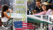 NEW YORK Влог 2 ♡ Шопинг ♡ Yankees Мач