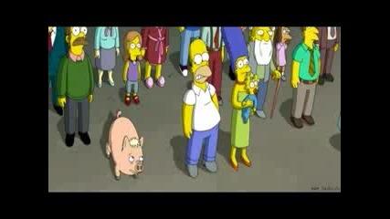 Семейство Симпсън - Прасето Паяк
