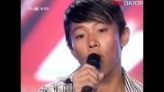Американец пя в x-factor Облаче ле бяло