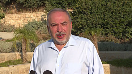 Israel: Former Defence Minister Lieberman casts vote in general election