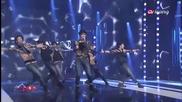 C - Clown - Shaking Heart @ Simply Kpop [ 27.05.2013 ] H D