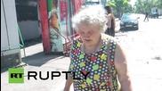 Ukraine: Donetsk's Oktyabrskiy district lies in ruins after shelling