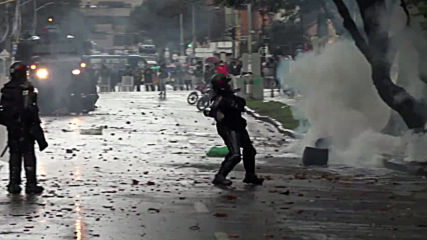 Colombia: Clashes erupt as students protest alleged police brutality