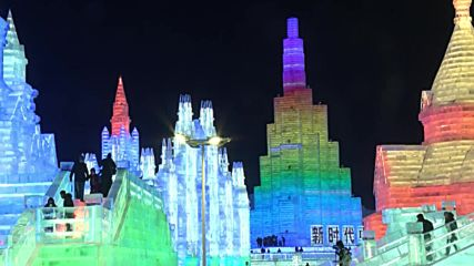 Harbin turns ice cold as Ice and Snow festival dazzles tourists