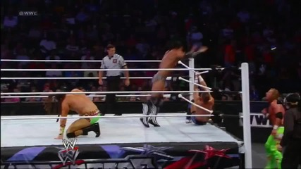 Justin Gabriel and Tyson Kidd vs Curt Hawkins and Tyler Reks