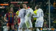 Barcelona 5 - 0 Real Madrid Fight