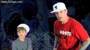8 - годишен сладур рапира на Ice Ice Baby