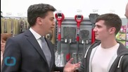 Miliband and His 8-foot Stone Tablet