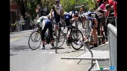 пребиване с колела