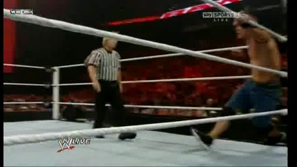 Raw 30.08.10 - Team Wwe vs The Nexus (5 on 5 elimination tag team match) 2/2