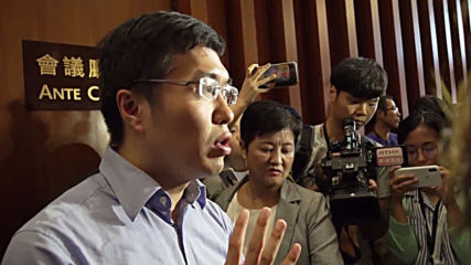 Hong Kong: Opposition lawmakers argue with LegCo security after removal from chamber