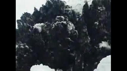 Кадри от облаците на волкана в Исландия